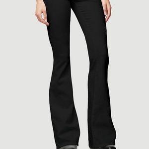 Frame Forever Karlie Black Flare Denim Jeans